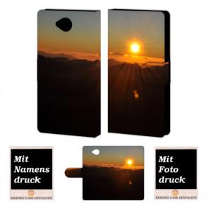 Microsoft Lumia 650 Sonnenaufgang Handy Tasche Hülle Foto Bild Druck