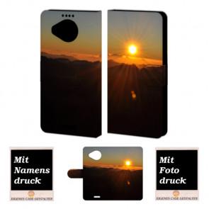 Microsoft Lumia 950 XL Sonnenaufgang Handy Tasche Hülle Foto Bild Druck