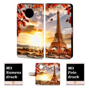 Motorola Moto G5s Plus Personalisierte Handyhülle mit Eiffelturm Foto selbst gestalten