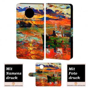 Motorola Moto G5s Personalisiert Handy Hülle Tasche mit Foto Bild Druck Gemälde