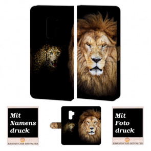 Samsung Galaxy S9 Individuelle schutzhülle Personalisierte Tasche Foto Löwe- Tiger
