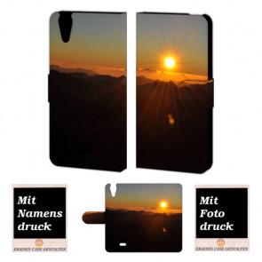 Wiko Rainbow jam 4G Sonnenaufgang Handy Tasche Hülle Foto Bild Druck
