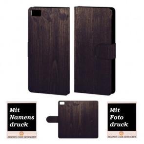 Xiaomi Mi 5 Holz Optik Handy Tasche Hülle Foto Bild Druck