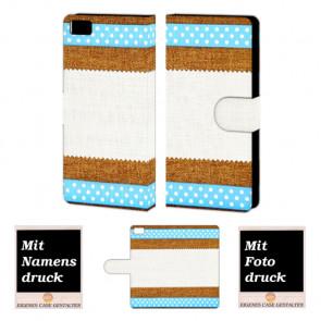 Xiaomi Mi 5 Muster Handy Tasche Hülle Foto Bild Druck