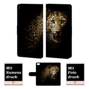 Xiaomi Mi 5 Tiger Handy Tasche Hülle Foto Bild Druck