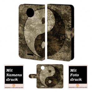 Motorola Moto E4 Plus Personalisierte Handyhülle mit Foto selbst gestalten yin yang