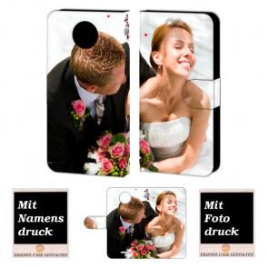Motorola Moto C Handy Tasche Hülle Foto Bild Druck