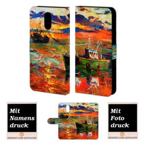 Moto G4 / G4 Plus Gemälde Handy Tasche Hülle Foto Bild Druck
