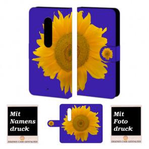 Moto X Play Sonnenblumen Handy Tasche Hülle Foto Bild Druck