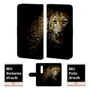 Moto X Play Tiger Handy Tasche Hülle Foto Bild Druck