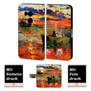 HTC U11 Plus Personalisierte Handy Hülle mit Gemälde Fotodruck