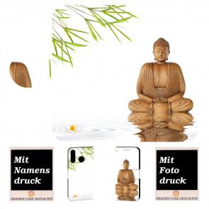 Samsung Galaxy A10s Handy Hülle mit Frieden Buddha Bild Druck