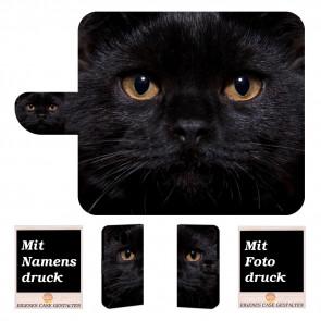 Huawei Mate 10 Personalisierte Handyhülle mit Schwarz Katze Fotodruck