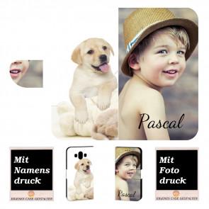 Huawei Mate 10 Schutzhülle Handy Tasche mit eigenem Bild Druck