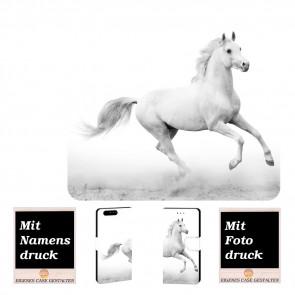 Huawei P10 Plus Personalisierte Handy Hülle mit Fotodruck Pferd