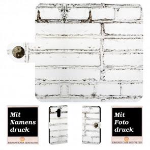 Huawei Mate 20 Lite Personalisierte Handyhülle mit Fotodruck Weiße Mauer