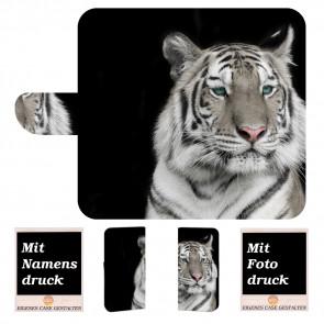 Huawei Mate 20 Personalisierte Handy Tasche mit Tiger Foto Logo Druck