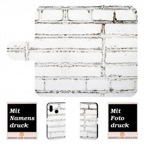 Individuelle Handy Hülle für Samsung Galaxy A10s mit Weiße Mauer Fotodruck