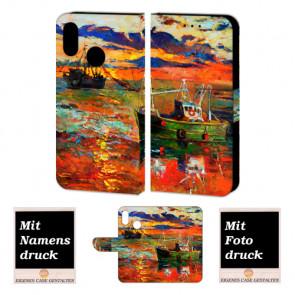 Samsung Galaxy A10s Handy Hülle mit Gemälde Bild Druck