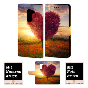 Schutzhülle Handy Tasche für Huawei Mate 9 Lite mit Herzbaum Bilddruck