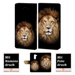 Huawei GR5 2017 Personalisie Handy Hülle Tasche mit Löwe + Foto Text Druck