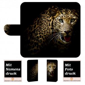 Schutzhülle Handy mit Leopard Fotodruck für Huawei Mate 20 Pro