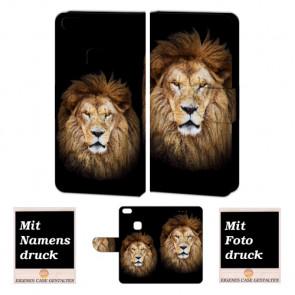 Personalisierte Handyhülle für Huawei P10 Lite mit Löwe Fotodruck