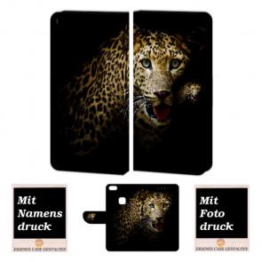 Huawei P10 Lite Personalisierte Handyhülle mit Fotodruck Leopard