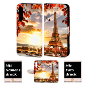 Personalisierte Handy Hülle für Huawei P20 mit Fotodruck Eiffelturm