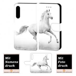 Huawei P20 Plus Personalisierte Handy Hülle mit Bilddruck Pferd