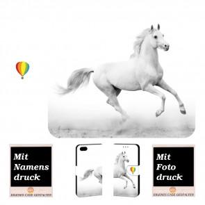 iPhone 6, 6s Personalisierte Handy Tasche Hülle mit Pferd + Bilddruck