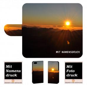 iPhone 6, 6s Personalisierte Handy Tasche mit Sonnenaufgang + Bilddruck