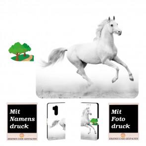 LG G7 ThinQ Personalisierte Handy Hülle mit Pferd + Bild Logo Druck