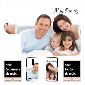LG K11 (2018) Personalisierte Handy Hülle Tasche mit Foto Text Bild Druck