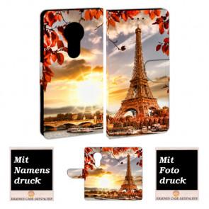 Motorola Moto E5 Play Personalisierte Handy mit Eiffelturm +Bilddruck Text