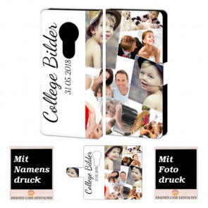 Motorola Maoto E5 Personalisierte Handyhülle Tasche mit Foto Text  Druck