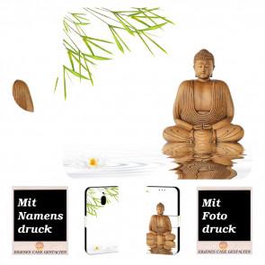 Nokia 2.1 Personalisierte Handyhülle mit Frieden Buddha + Foto Druck