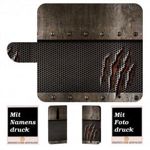Nokia 5.1 Personalisierte Handyhülle mit Tür Monster Metall + Bilddruck