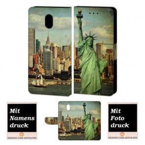 Nokia 3 Personalisierte Handy Hülle mit Freiheitsstatue + Fotodruck