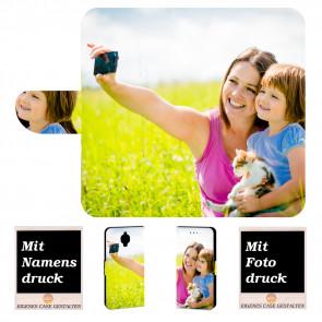 OnePlus 3 Schutzhülle Handy Tasche mit Foto Text Bild Druck
