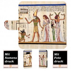 Samsung Galaxy S7 Handyhülle mit Götter Ägyptens + Bilddruck
