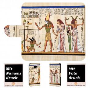 Samsung Galaxy A5 (2017) Handyhülle mit Götter Ägyptens + Fotodruck