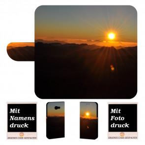 Handy Hülle mit Foto Druck Sonnenaufgang für Samsung Galaxy Xcover 4s
