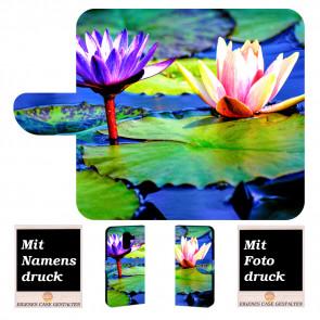 Handyhülle mit Lotosblumen Fotodruck für Samsung Galaxy J8 (2018)