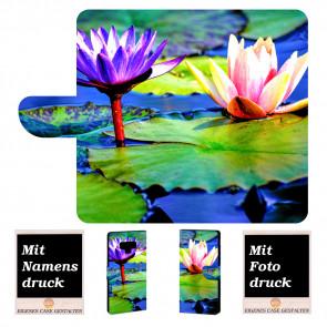 Samsung Galaxy Note 9 Handy Hülle mit Lotosblumen Fotodruck