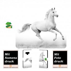 Samsung Galaxy Note 9 Schutzhülle Handy Tasche mit Pferd + Bilddruck
