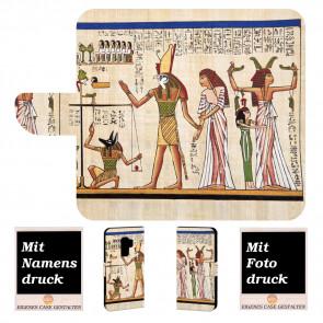 Samsung Galaxy S9 Plus Handyhülle mit Götter Ägyptens + Fotodruck