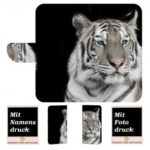 Samsung Galaxy S9 Plus Personalisierte Handyhülle mit Tiger +Fotodruck