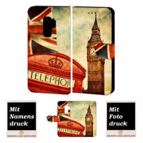 Samsung Galaxy S9 Plus Handyhülle selbst gestalten mit eigenem Foto Big Ben-Uhrturm London