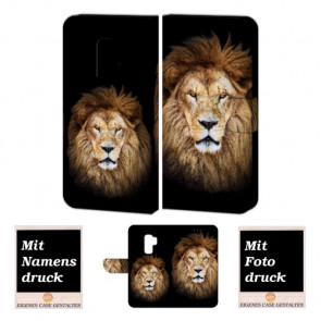 Samsung Galaxy S9 Personalisierte Handyhülle mit Löwe Fotodruck
